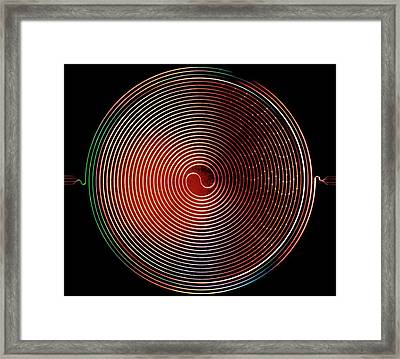 Superconducting Amplifier Framed Print