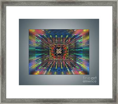 Superconductivity Framed Print