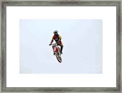 Supercross Framed Print by DejaVu Designs