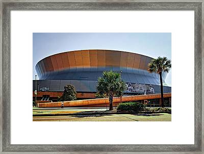Superdome Framed Print by Steve Harrington