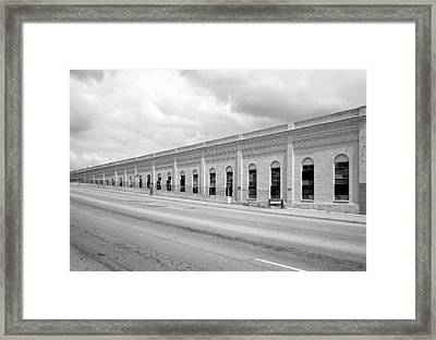 Superior Plating Building Framed Print