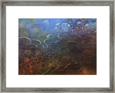 Superior Shore Framed Print