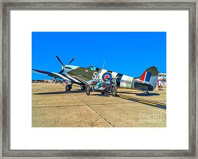 Supermarine Mk959 Spitfire Framed Print