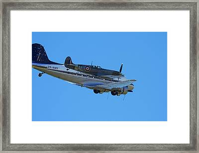 Supermarine Spitfire  -  British Framed Print by David Wall
