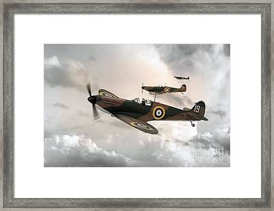 Supermarine Spitfire Mk I Framed Print by J Biggadike