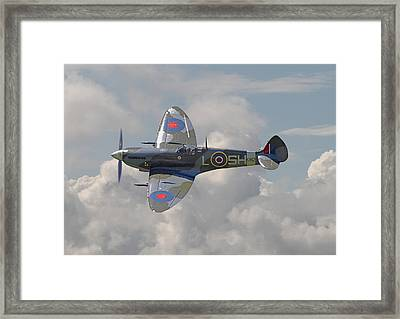 Supermarine Spitfire Framed Print by Pat Speirs