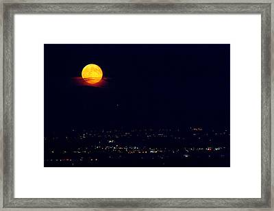 Supermoon 2 Framed Print by James BO  Insogna