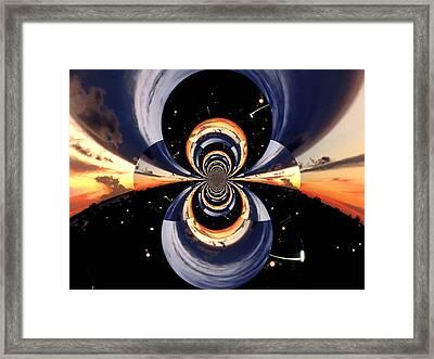 Supernatural Invasion Framed Print
