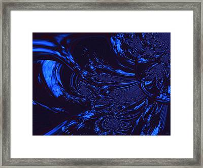 Supernatural Water Element Framed Print