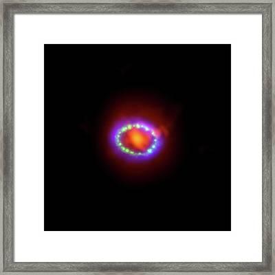 Supernova 1987a Remnant Framed Print