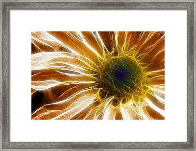 Supernova Framed Print by Adam Romanowicz