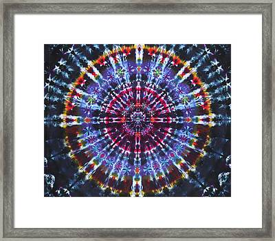 Supernova Framed Print by Courtenay Pollock