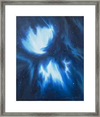 Supernova Explosion Framed Print by James Christopher Hill