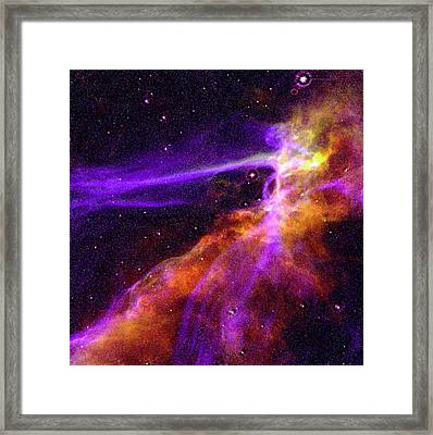 Supernova In Cygnus Framed Print