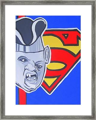 Supersloth Framed Print by Gary Niles