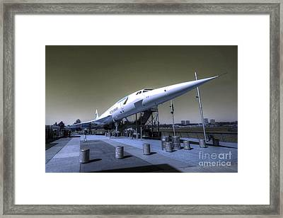 Supersonic  Framed Print by Rob Hawkins