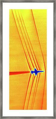 Supersonic Shock Waves Framed Print