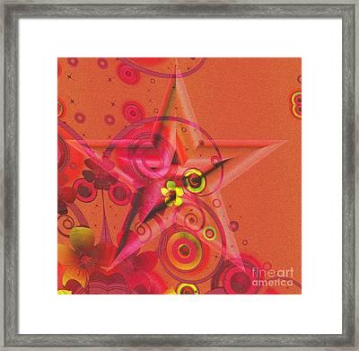Superstar Framed Print by Liane Wright