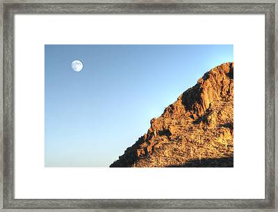 Superstition Mountain Framed Print
