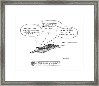 Superstitions: Framed Print by Mick Stevens