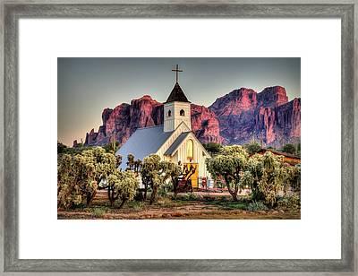 Superstitious Faith Framed Print