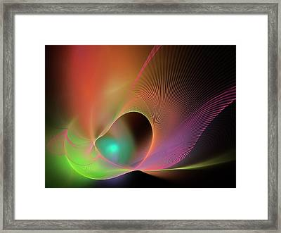 Superstrings Framed Print