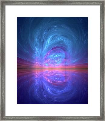 Supersymmetry Conceptual Artwork Framed Print by David Parker