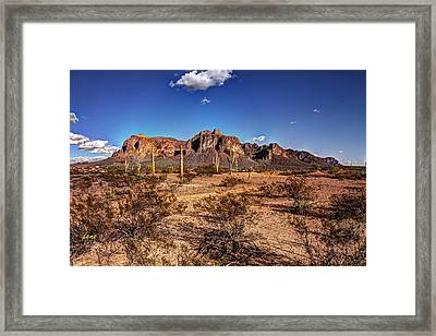 Supes Wide Framed Print by George Lenz