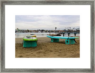 Suping Framed Print