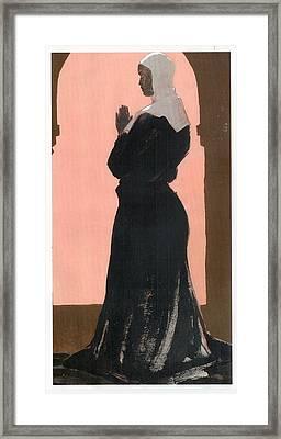 Supplicant Framed Print by Richard Schmidt