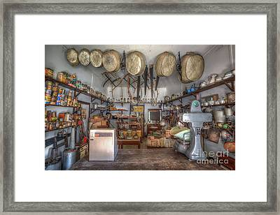 Supplies Framed Print by Shannon Rogers