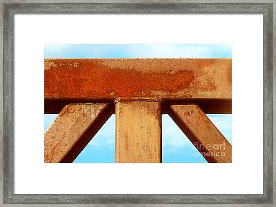 Framed Print featuring the photograph Support by Cristophers Dream Artistry