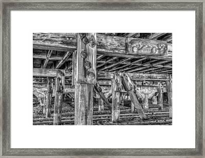 Support Framed Print by Dado Molina