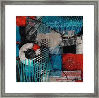 Support Her Framed Print