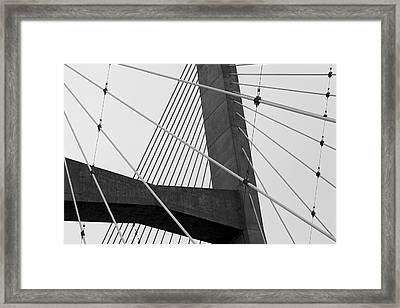 Support Framed Print by Jane Eleanor Nicholas