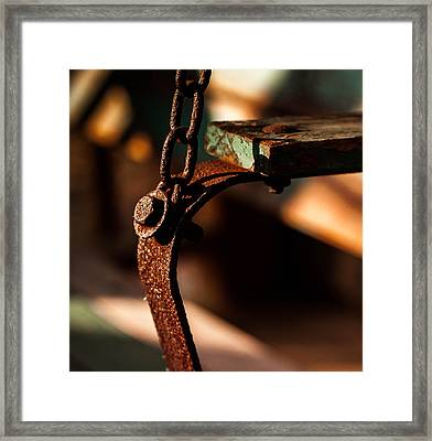 Framed Print featuring the photograph Support by Haren Images- Kriss Haren