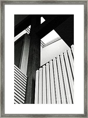 Supporting The Opposition Framed Print by Jim Rossol