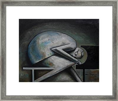 Supposition Framed Print by Martel Chapman