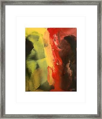 Supreme Split Framed Print by Craig Tinder