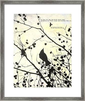 Surah Mulk Framed Print by Salwa  Najm
