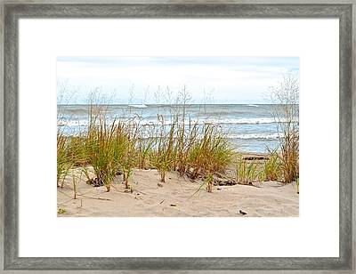 Surf And Turf Framed Print