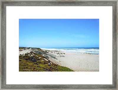 Surf Beach Lompoc California Framed Print