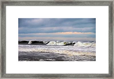 Surf City Surf Framed Print