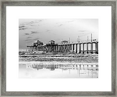 Surf City U S A  Framed Print