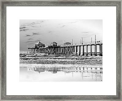 Surf City U S A  Framed Print