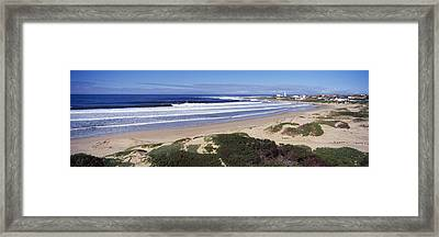 Surf In The Sea, Cape St. Francis Framed Print by Panoramic Images