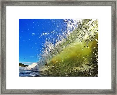 Surf Framed Print by Nicklas Gustafsson