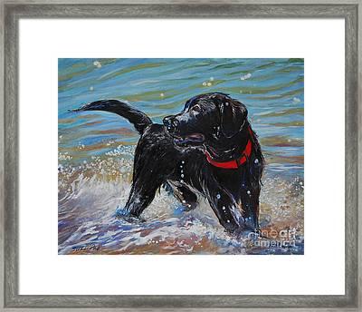 Surf Pup Framed Print