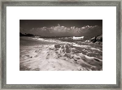Surf Framed Print by Sergey Simanovsky