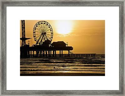 Surf Spot Framed Print